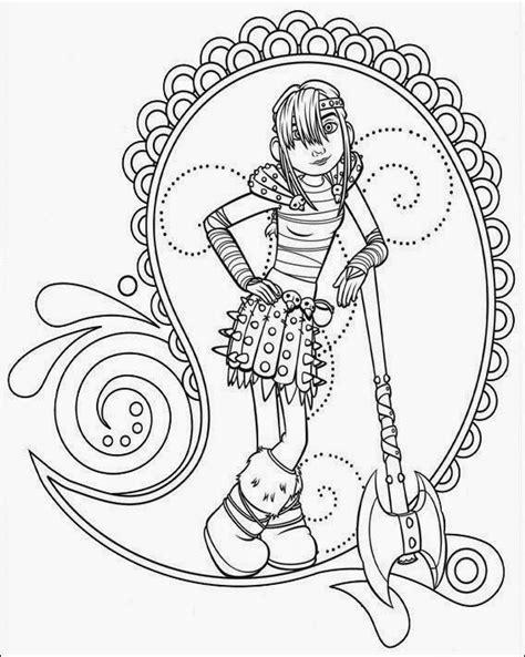 Desenhos Para Colorir Como Treinar O Seu Dragão | Desenhos