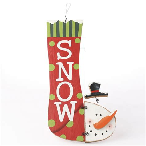 quot snow quot snowman wall decor signs ornaments