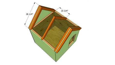 dog house roof plans insulated dog house plans myoutdoorplans free woodworking plans and projects diy