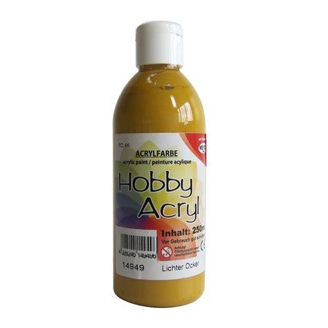 acrylic paint yellow ochre ochre yellow acrylic paint 100ml item no 14919