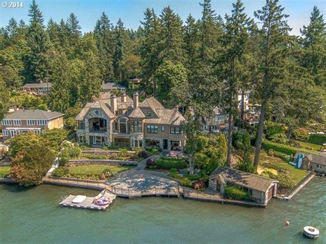 Houses For Rent Washington State by Oregon Waterfront Property In Portland Lake Oswego