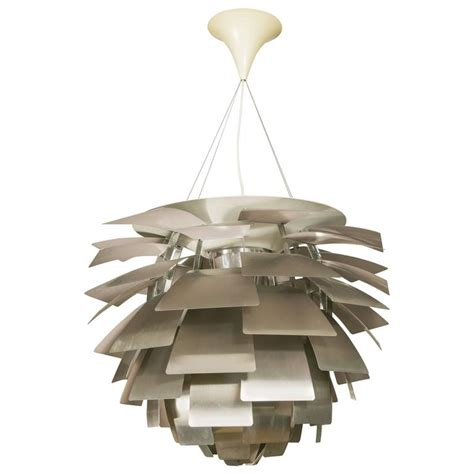 artichoke light fixture large artichoke ceiling fixture by poul henningsen for