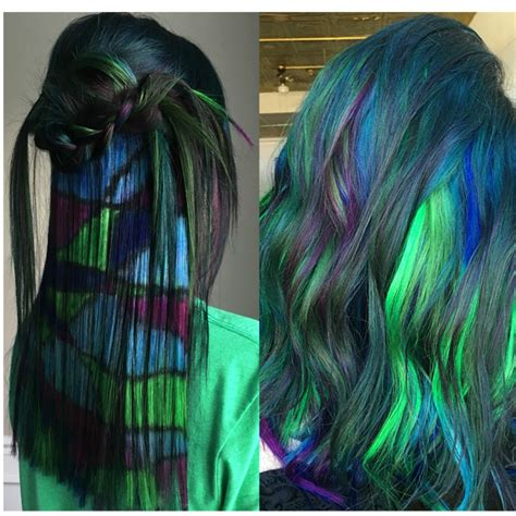 different colored hair with hair artist and designer dj victory