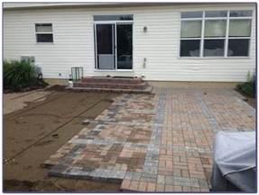 installing patio blocks installing patio pavers on dirt patios home decorating