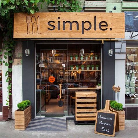 Simple Cafe Interior Design by 92 Restaurant Designs
