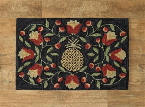 How To Dry Rugs Pineapple Hooked Rug