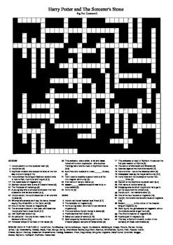 Harry Potter and the Sorcerer's Stone: Big Fun Crossword