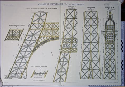 eiffel tower floor plan file eiffel tower plans 07 jpg