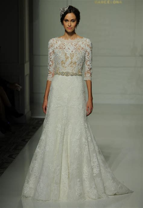 pronovias fall 2016 wedding dress collection dipped in