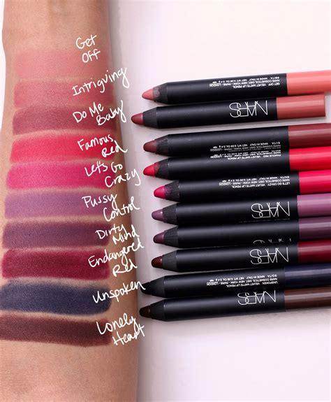 Lip Liner Nars nars velvet matte lip pencil swatches www pixshark