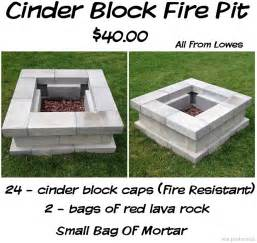 Cinder Block Firepit Diy Projects 15 Ideas For Using Cinder Blocks Survivopedia