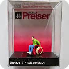 Miniature Figure Preiser Skala Ho 224 babi a fi miniature monday wheelchairs for dolls