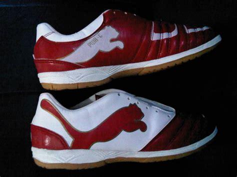 Powercat Sepatu Bola powercat 1 12 merah putih sms 085655456752 pin