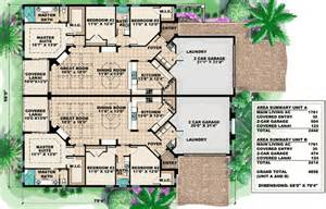 two family floor plans mediterranean multi family house plan 66174gw 1st