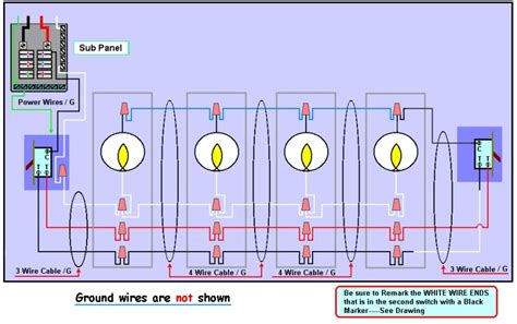 Fourlights by Wiring Diagram Installing 3 Way Switch Wiring Diagram