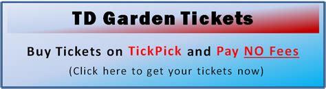Td Garden Box Office by Boston Garden Tickets