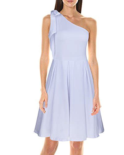 Dress Import One Shoulder 1712 styleword s casual one shoulder cocktail dress white m import it all