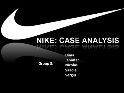 Nike Powerpoint Template Nike Ethics