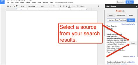 Free Technology For Teachers How To Create A Bibliography In Google Documents 7 Does Docs