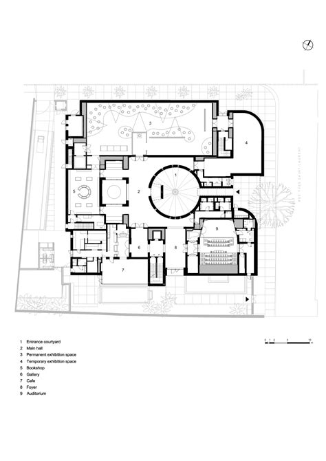 musee d orsay floor plan preview of marrakech s new ysl museum