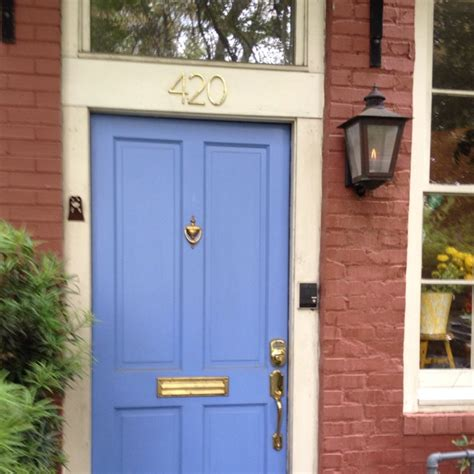 Paint Colors For Front Doors On Red Brick Houses Trendy