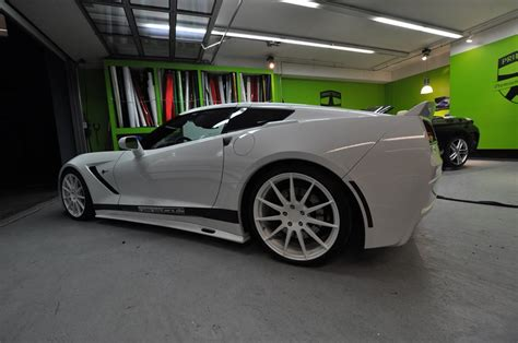 geiger corvette tuningcars geigercars corvette stingray wrapped by print tech