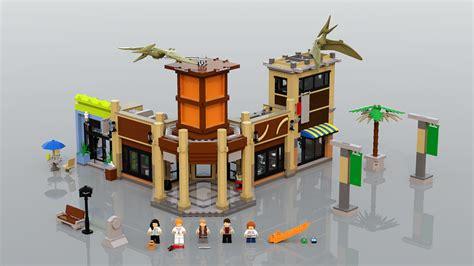 Set Mainan Shopping lego ideas product ideas jurassic world