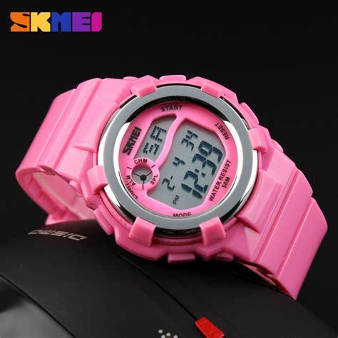 Jam Tangan 1504mp Pink skmei jam tangan anak dg1161 pink jakartanotebook