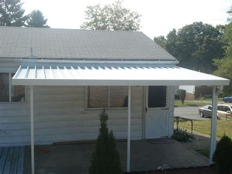 aluminum awnings pittsburgh crest 700 flat pan aluminum awning in white aluminum