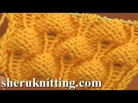 pattern library tutorial knitting strawberry stitch pattern tutorial 13 knit stitch