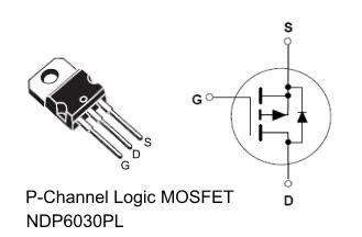 mosfet transistor logic tip logic level fet s p channel