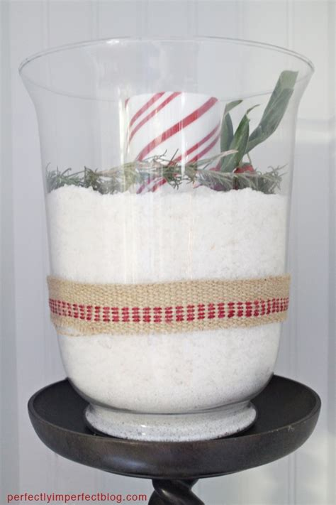 Faux Snow Vase Filler by The Perfectly Imperfect Home Tour 2011 Deco
