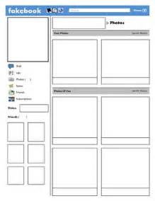 blank profile template best photos of blank template for students