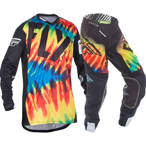 fly racing motocross gear fly racing 2017 mx lite hydrogen le tie dye jersey