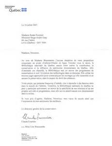 letter of application modele lettre officielle ministre