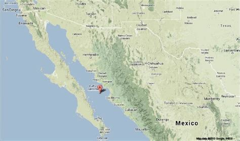 where is the gulf of california located on a map sciency thoughts magnitude 6 5 earthquake beneath the