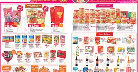 ntuc new year promotion supermarket promotions ntuc fairprice new year