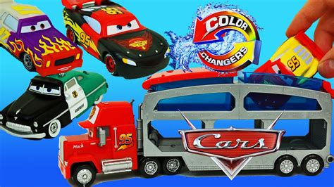 color changer disney cars new color changers playset with lightning