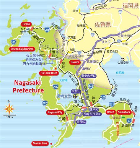 nagasaki map nagasaki jtb malaysia