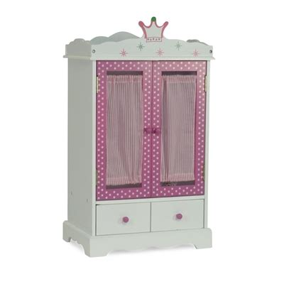 18 inch doll furniture armoire closet fits american