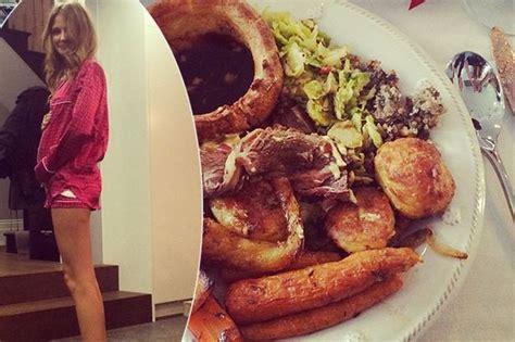 impressive dinner millie mackintosh shows impressive food baby as