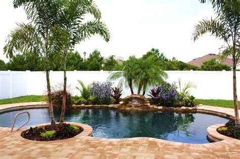 pool landscaping pool landscape small yard ideas for the home pinterest