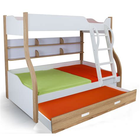 bunk trundle bed columbia bunk with trundle bed kids bunk beds online