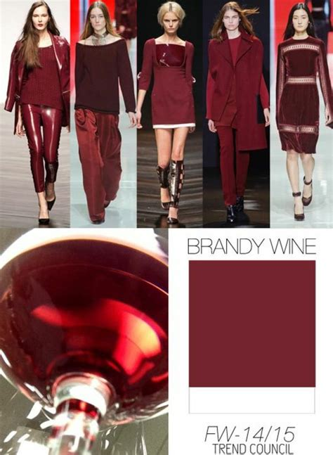 Trendfarbe Winter 2015 by Farbpalette Herbsttyp Trendfarben Herbst Winter 2014