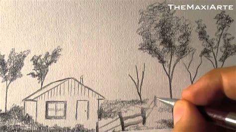 imagenes para dibujar a lapiz de paisajes faciles c 243 mo dibujar paisaje a l 225 piz paso a paso f 193 cil hd youtube