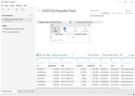tableau wdc tutorial wdc multiple tables tutorial