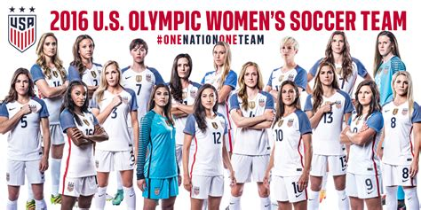2016 usa olympic womens soccer team usa head coach jill ellis names 2016 u s olympic women s