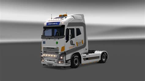 truck volvo 2013 volvo fh16 2013 festa logistics truck skin 1 28 euro