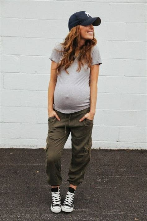 Pregnancy Look by 18 Pregnancy Ideas For A Casual But Maternity