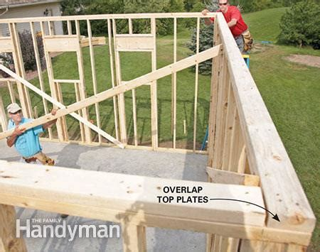 cost to gut a house to the studs framing a garage the family handyman